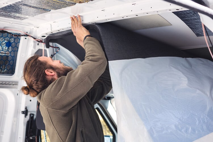 Air Seal And Insulate a camper