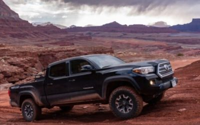 2017 Toyota Tacoma V6 Towing Capacity