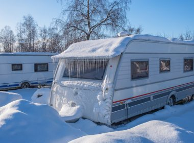 How to Keep a Camper Warm in the Winter