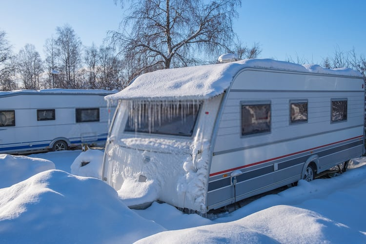 Keeping a Camper Warm during the Winter period