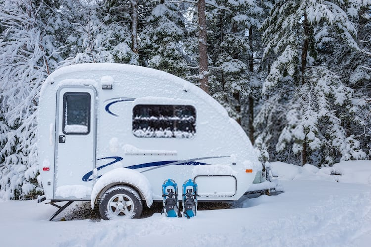 Preventing RV Pipes From Freezing While Camping