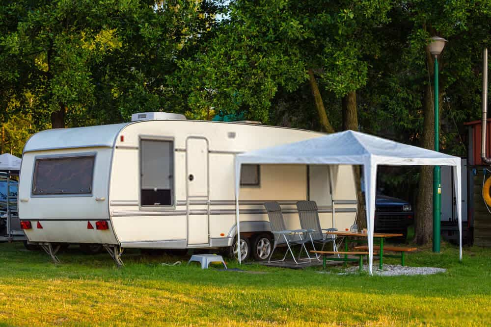 Travel Trailers With Kitchen Island And Outdoor Kitchen