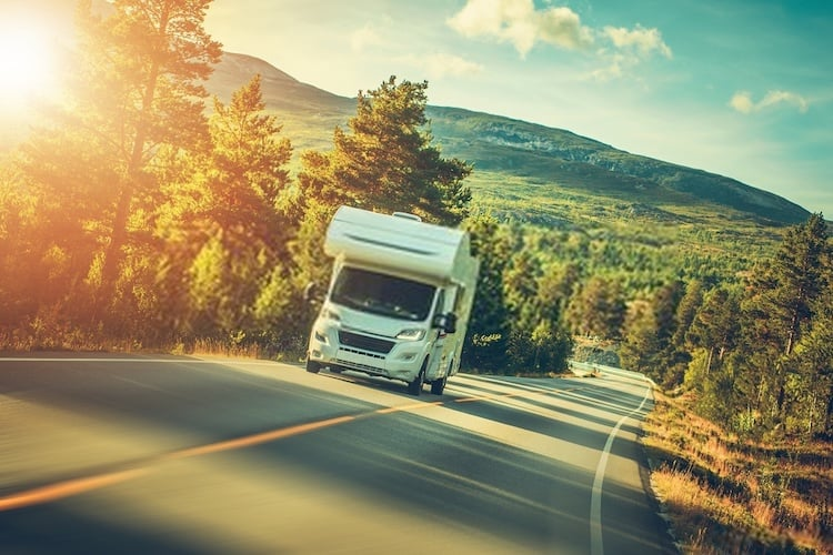 average weight of a Motorhome