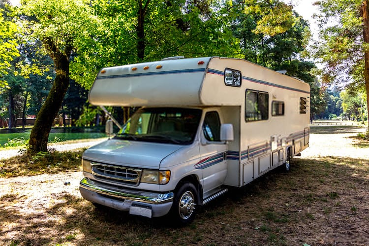 what is the weight of a motorhome