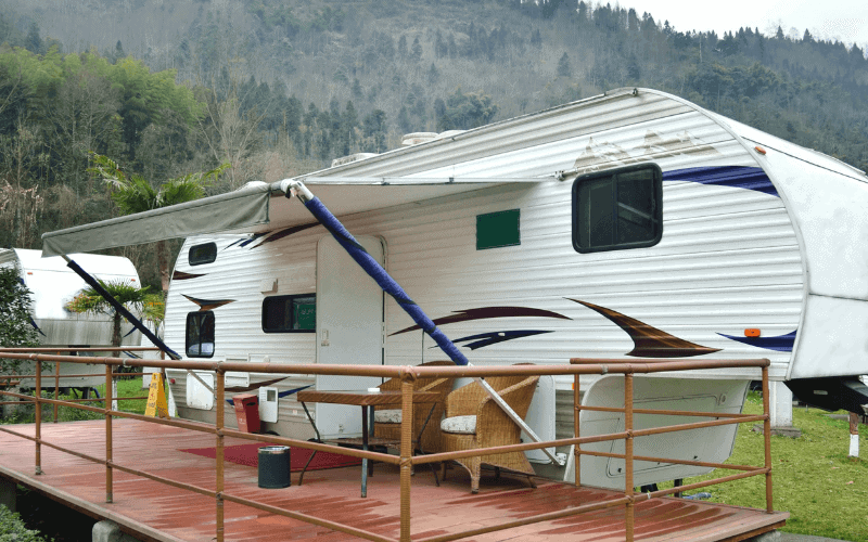 What to Consider Before Leaving In a Camper on Someone's Land