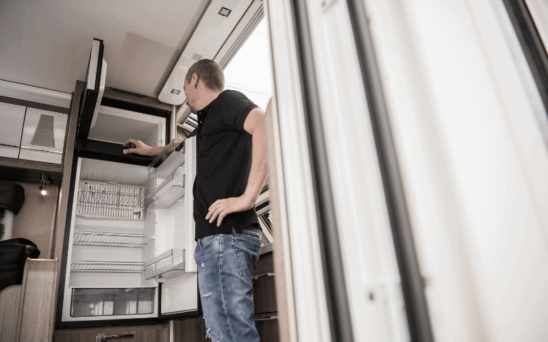 Why RV Refrigerator is Not Cooling But Freezer Is