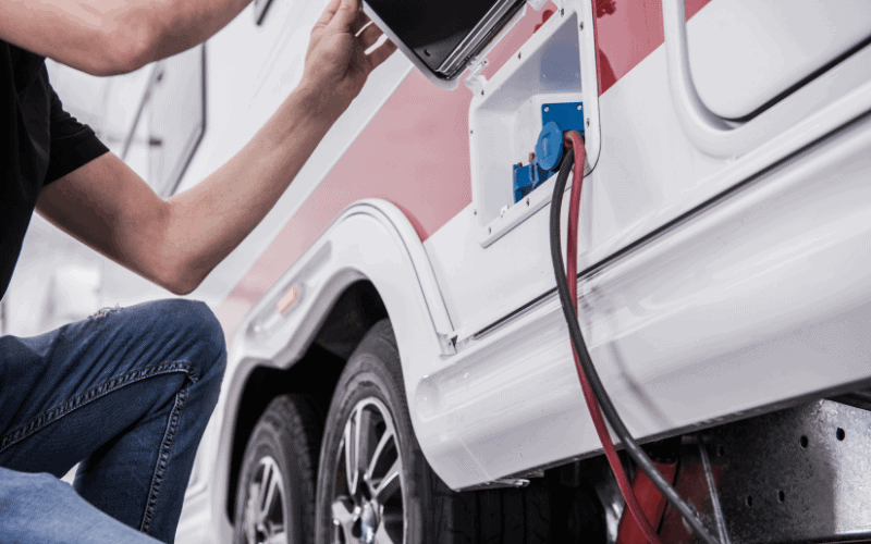common travel trailer electrical problems