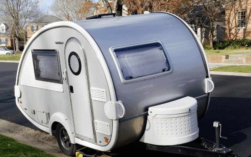 how can you heat a camper in the winter
