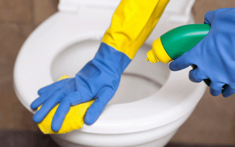 Can I Clean My RV Toilet With Bleach