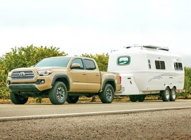 What Size Travel Trailer Can A Toyota Tacoma Pull?