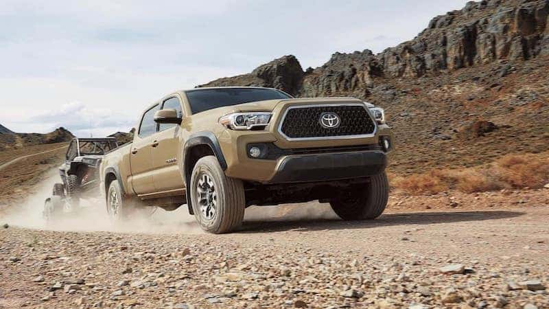 What Size Travel Trailer Can A Toyota Tacoma Pull