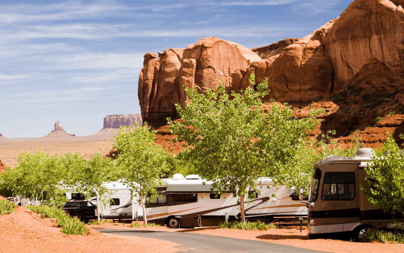 average cost of a campground