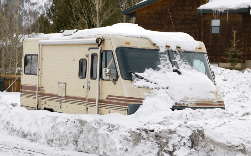 how to winterize a camper without antifreeze