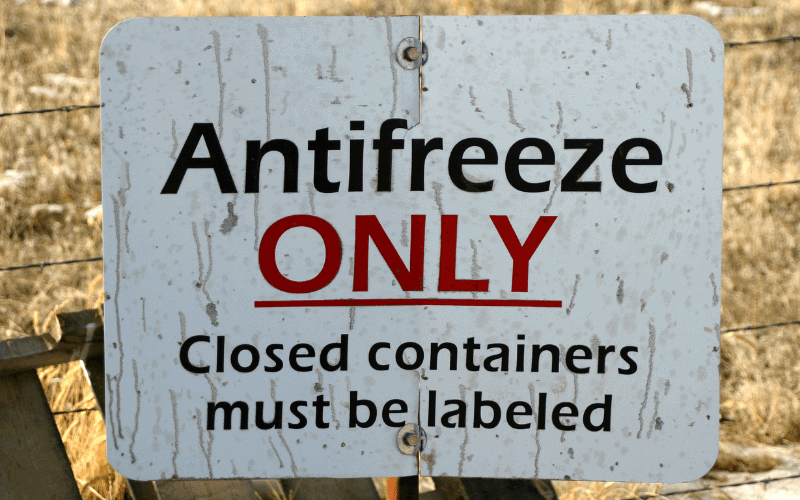 how to winterize an rv with antifreeze