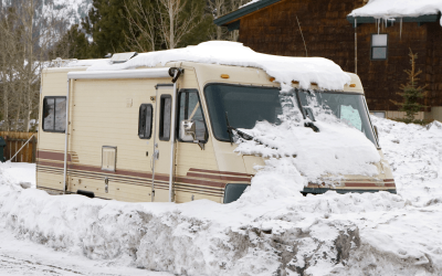 Best RV For Winter Living – Extreme COLD Weather RVs