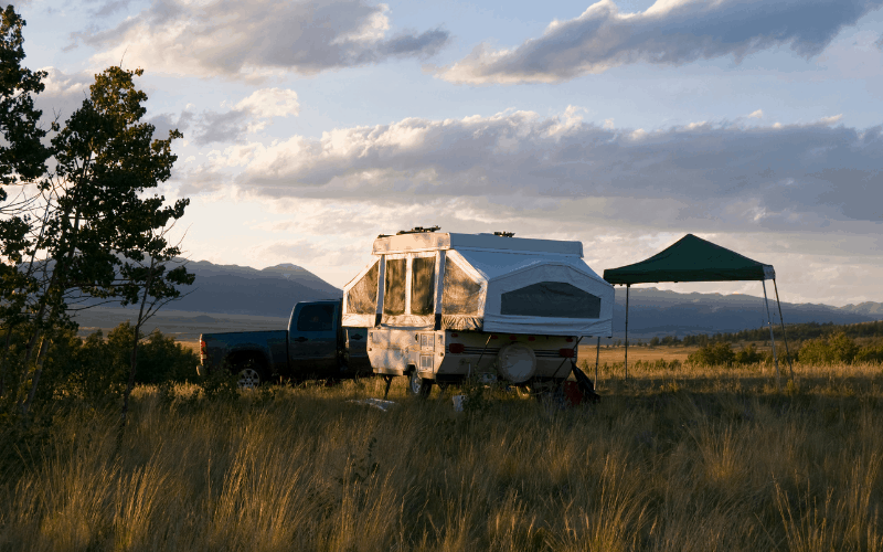 How Do You Get Mold Out Of A Popup Camper