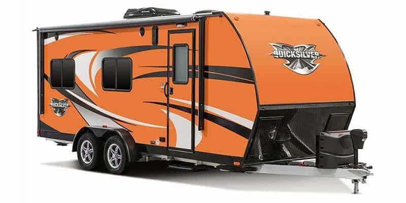 Livin' Lite Quicksilver VRV XTR 614 Travel trailer