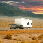 Can a 1/2 ton pull a travel trailer