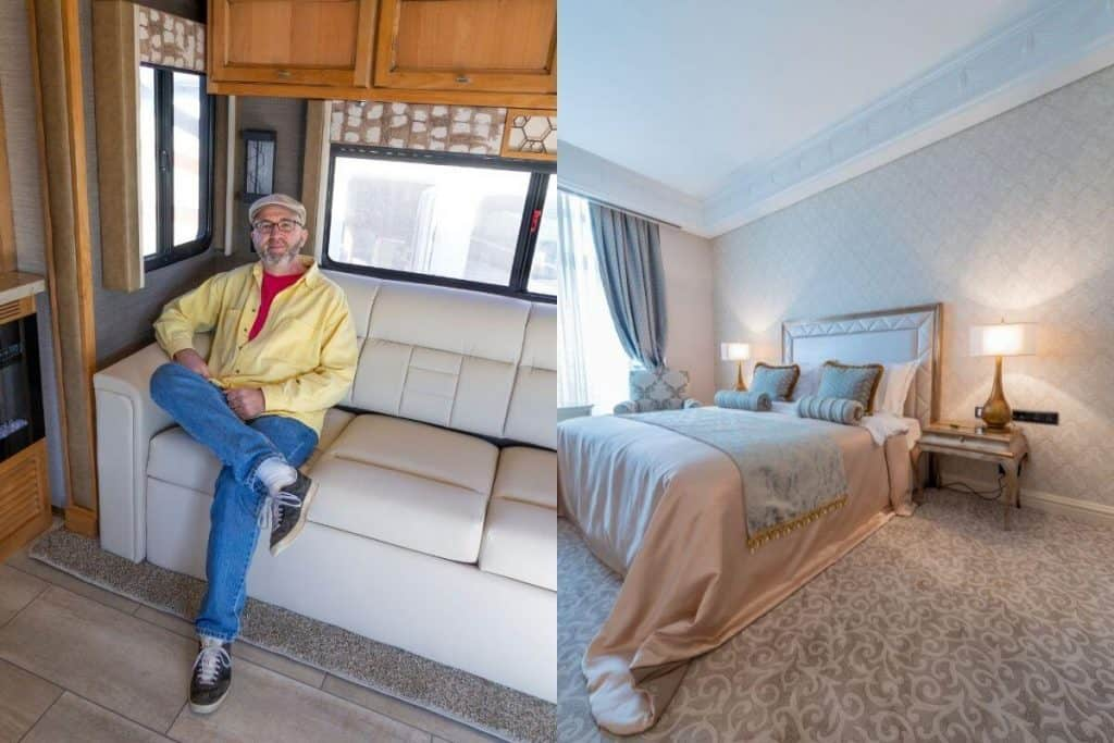 renting an RV vs staying in a Hotel